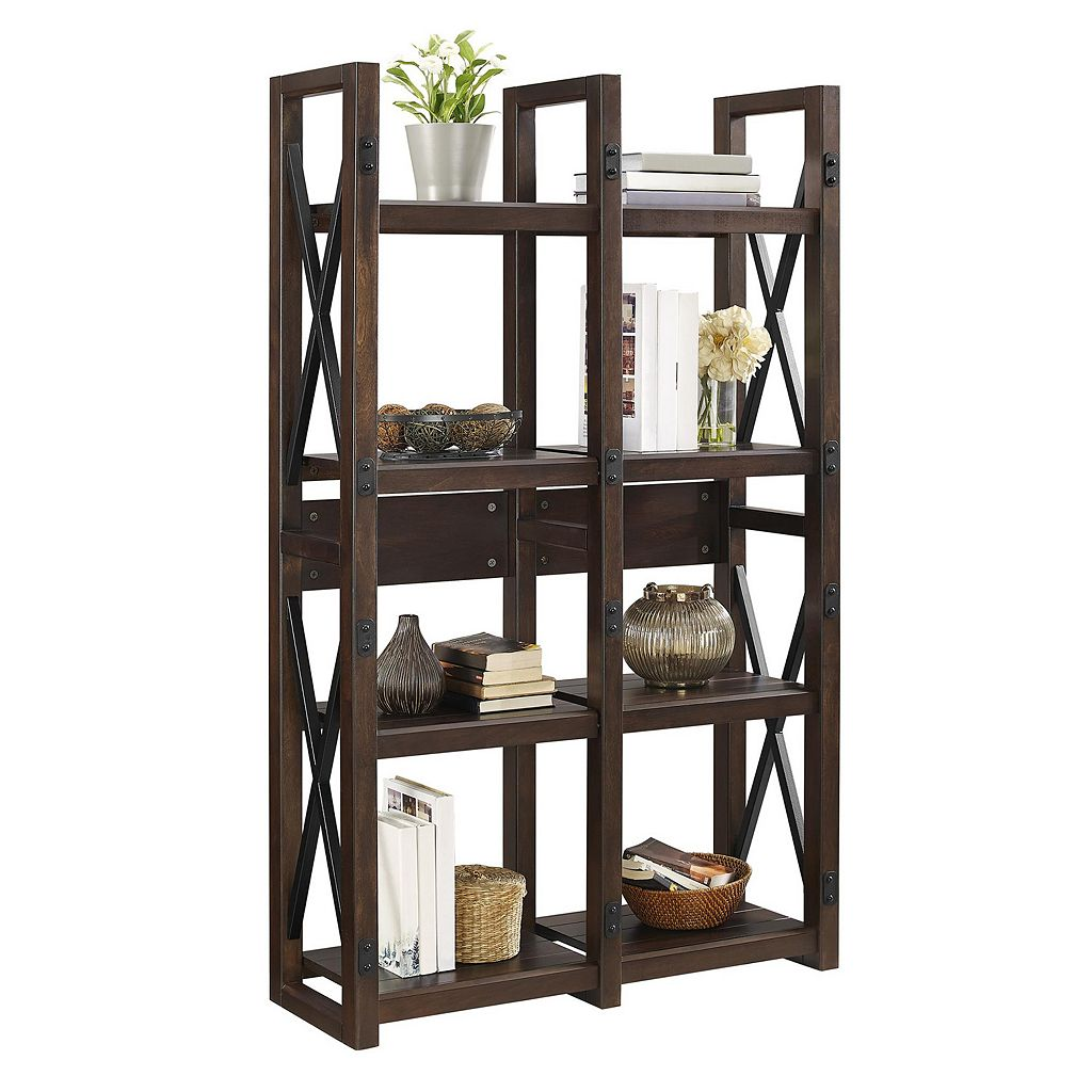 Altra Wildwood Double Bookcase