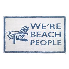 Avanti Beach People Bath Rug