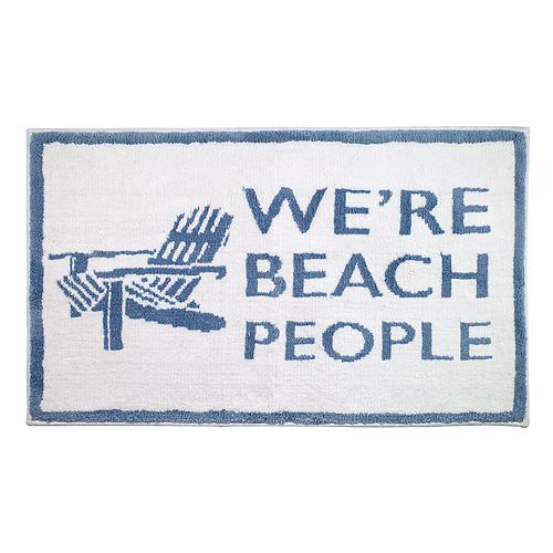 Avanti Beach People Bath Rug