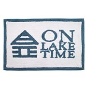 Avanti 'On Lake Time' Bath Rug