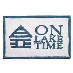 Avanti 'On Lake Time' Bath Rug