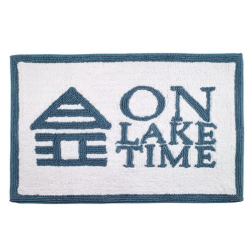 "Avanti ""On Lake Time"" Bath Rug"