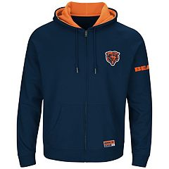 Big & Tall Majestic Chicago Bears Anchor Point Hoodie