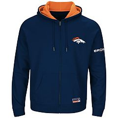 Big & Tall Majestic Denver Broncos Anchor Point Hoodie