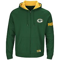 Big & Tall Majestic Green Bay Packers Anchor Point Hoodie