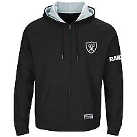 Big & Tall Majestic Oakland Raiders Anchor Point Hoodie