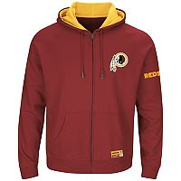 Big & Tall Majestic Washington Redskins Anchor Point Hoodie