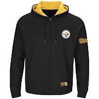 Big & Tall Majestic Pittsburgh Steelers Anchor Point Hoodie