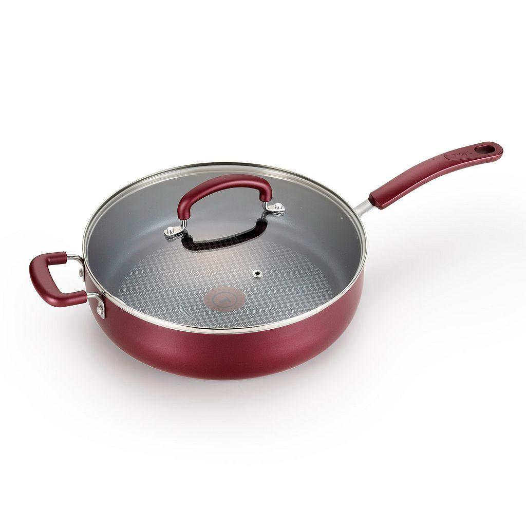T-Fal Color Luxe 5-qt. Nonstick Titanium Jumbo Cooker