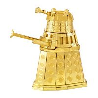 Fascinations Dr. Who Gold Dalek Metal Earth 3D Laser Cut Model Kit