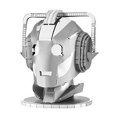 Fascinations Dr. Who Cyberman Head Metal Earth 3D Laser Cut Model Kit