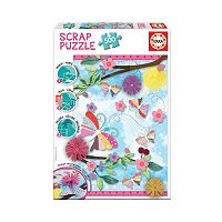 Educa 500-pc. Garden Art Scrap Puzzle
