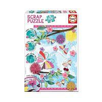 Educa 500 pc Garden Art Scrap Puzzle