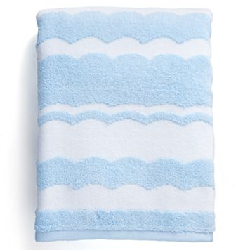 Destinations Wave Scallop Bath Towel