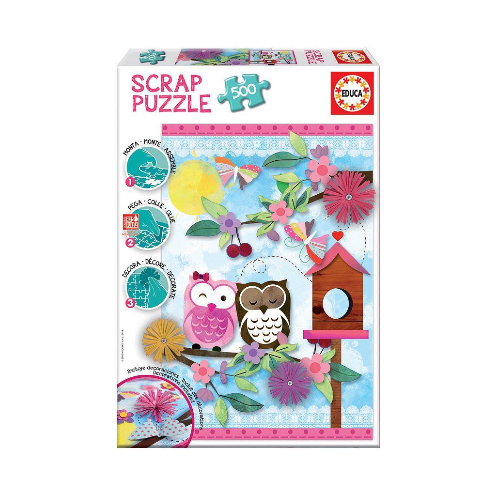 Educa 500-pc. Valentine Art Scrap Puzzle