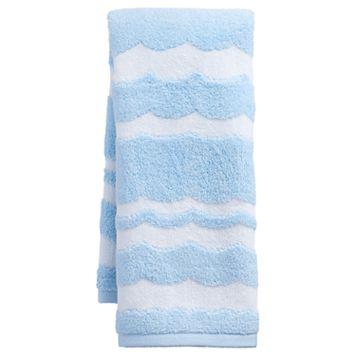 Destinations Wave Scallop Hand Towel