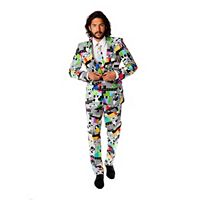 Men's OppoSuits Slim-Fit Testival Suit & Tie Set