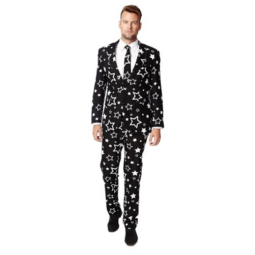 Men's OppoSuits Slim-Fit Starring Suit & Tie Set