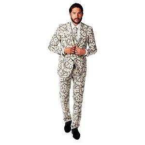 Men's OppoSuits Slim-Fit Cashanova Suit & Tie Set