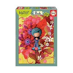 Educa 1000-pc. Ketto Blue Lady Jigsaw Puzzle