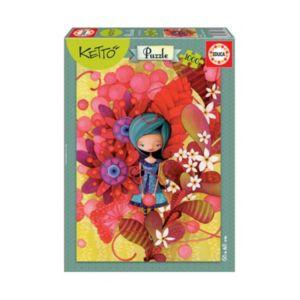 Educa 1000-pc. Ketto Blue Lady Jigsaw Puzzle