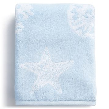 Destinations Coastal Shell Bath Towel