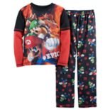 Boys 4-16 Super Mario Bros. 2-Piece Pajamas