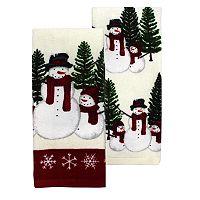 St. Nicholas Square® Snowman Kitchen Towel 2-pk.