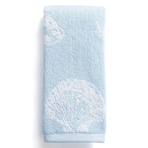 Destinations Coastal Shell Fingertip Towel