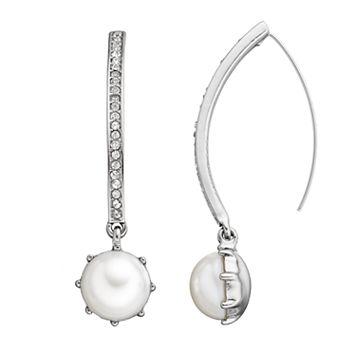 Simply Vera Vera Wang Curved Nickel Free Threader Earrings