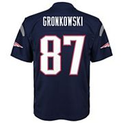 Boys 8-20 New England Patriots Rob Gronkowski Replica Jersey