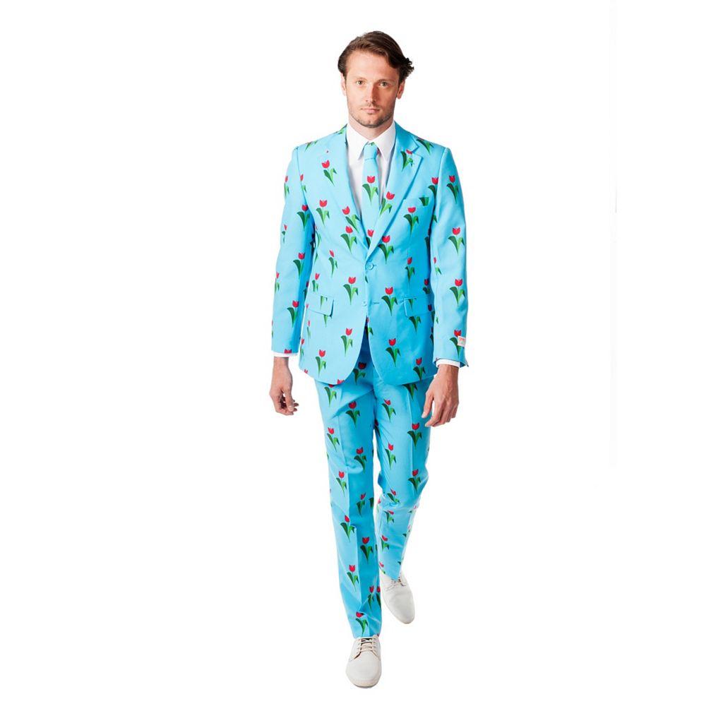 Men's OppoSuits Slim-Fit Tulips From Amsterdam Suit & Tie Set