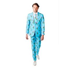 Men's OppoSuits Slim-Fit Tulips From Amsterdam Suit & Tie Set