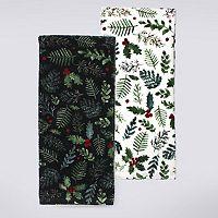 St. Nicholas Square® Holiday Foliage Kitchen Towel 2-pk.