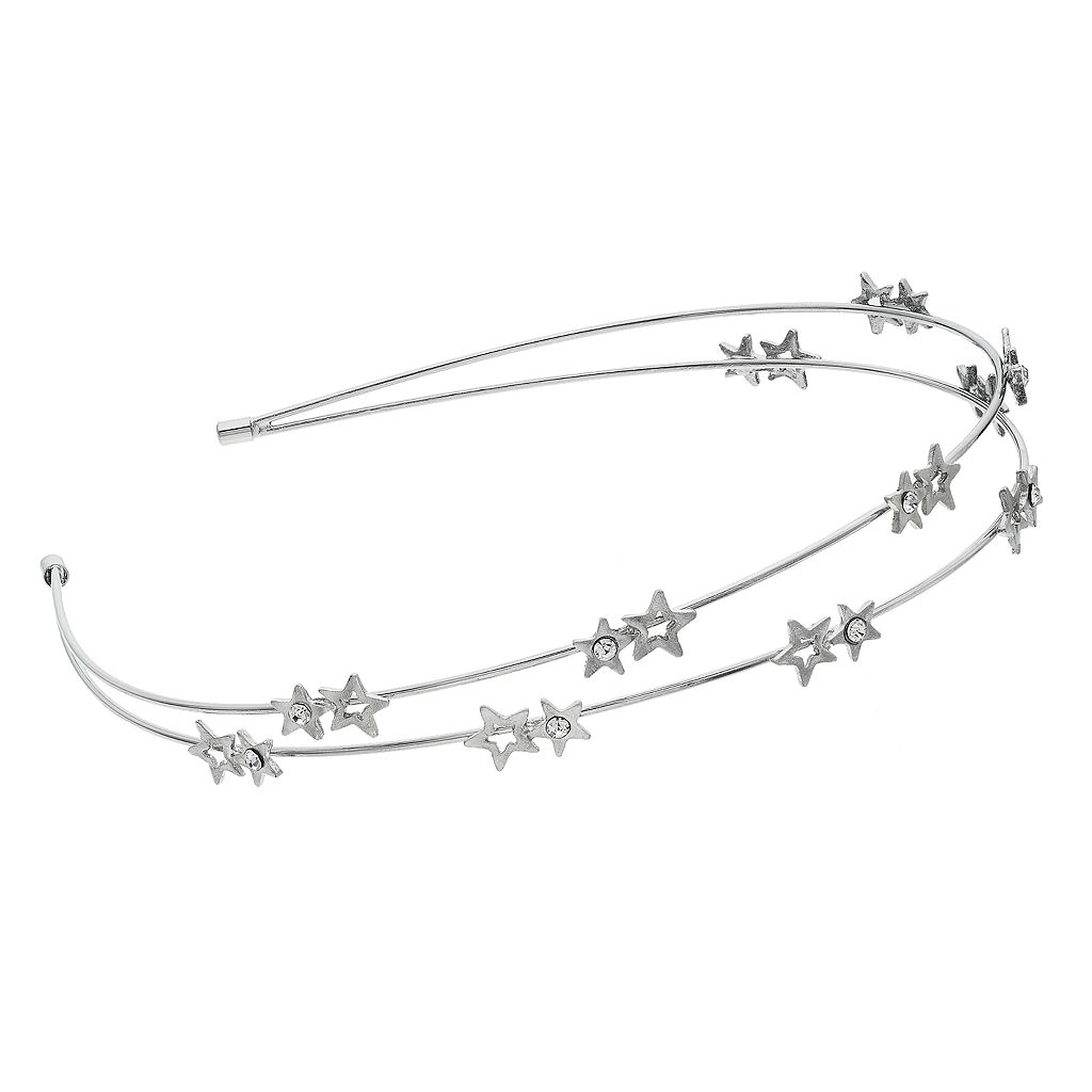 Mudd® Star Double Row Headband