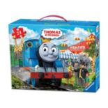 Thomas & Friends 24-pc. Circus Fun Floor Puzzle in a Suitcase Box by Ravensburger