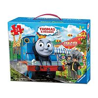 Thomas & Friends 24 pc Circus Fun Floor Puzzle in a Suitcase Box by Ravensburger