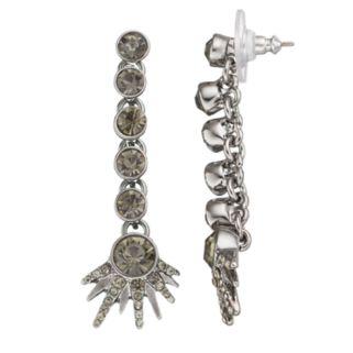 Simply Vera Vera Wang Starburst Nickel Free Linear Drop Earrings