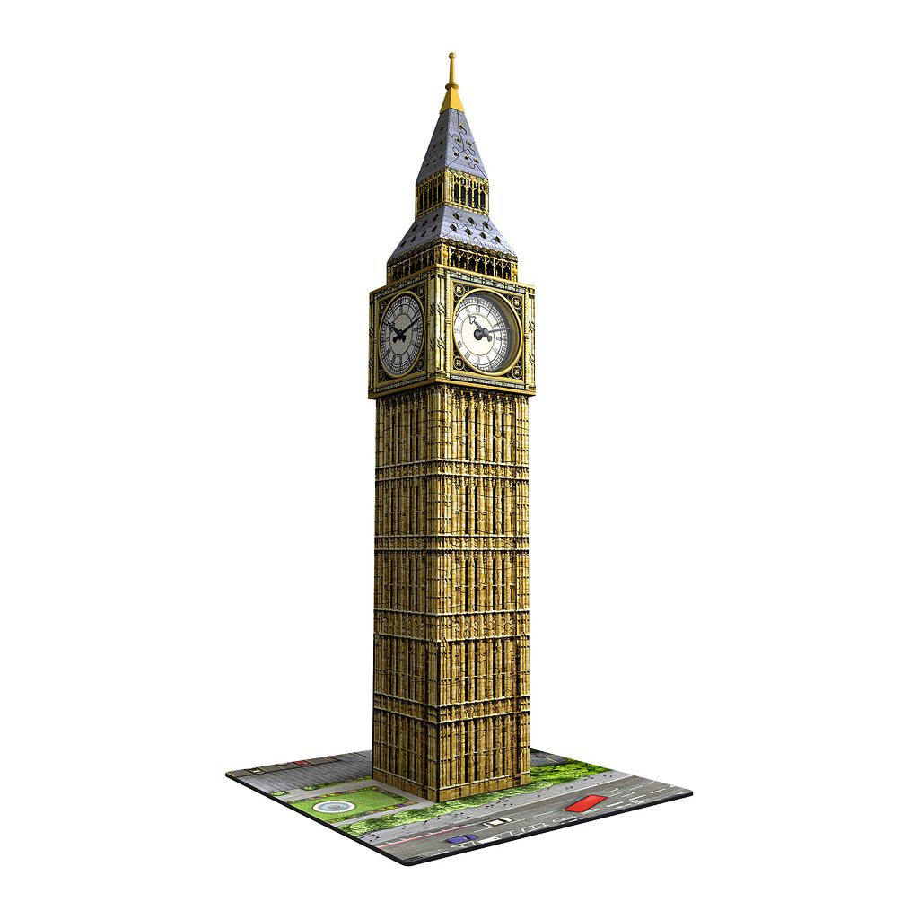 Ravensburger 216-pc. 3D Puzzle Big Ben with Working Clock