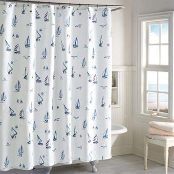 Destinations Leeward Shower Curtain