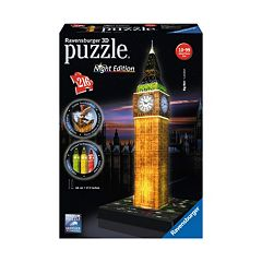 Ravensburger 216-pc. 3D Puzzle Night Edition Big Ben  by