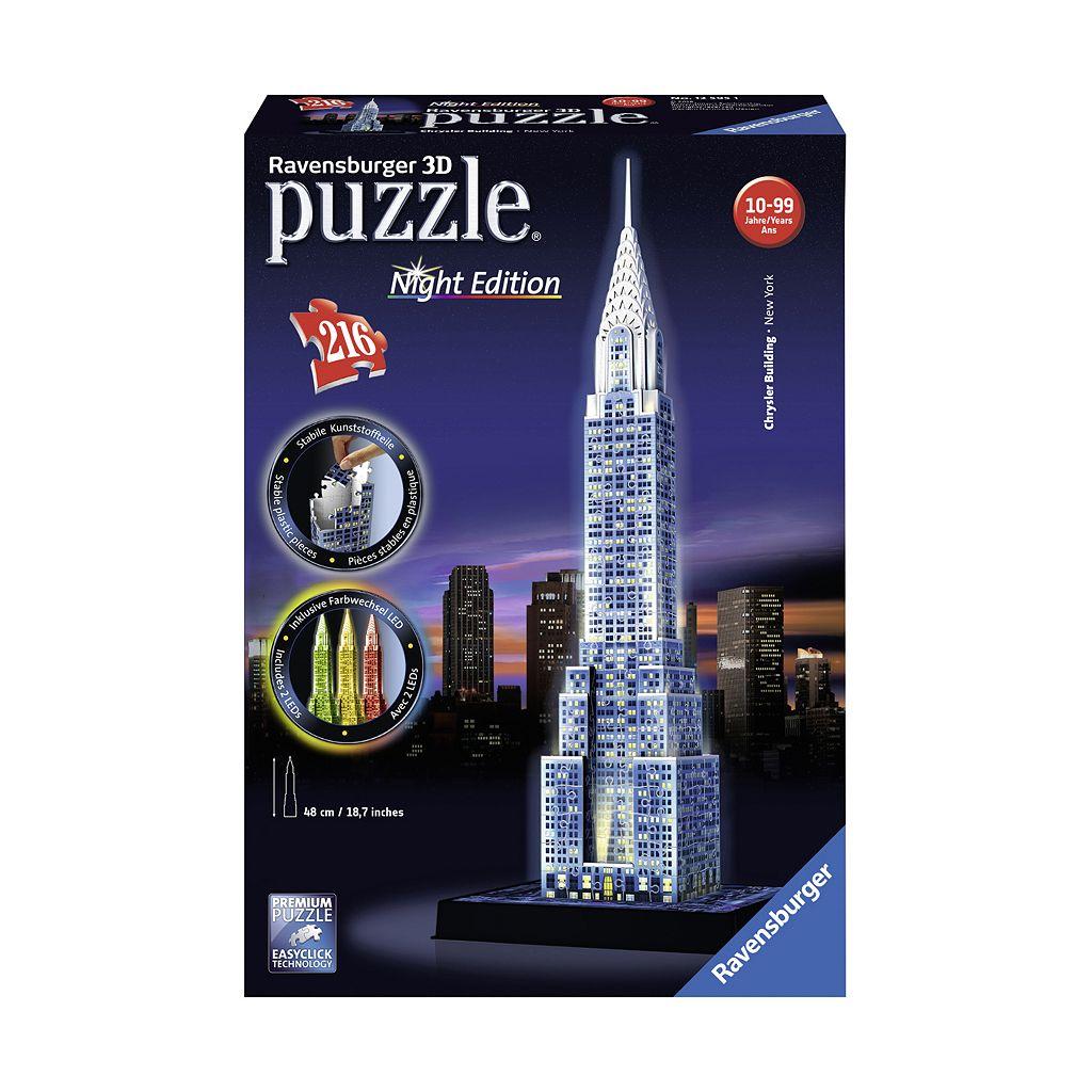 Ravensburger 216-pc. 3D Puzzle Night Edition Chrysler Building