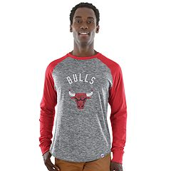 Big & Tall Majestic Chicago Bulls Raglan Tee