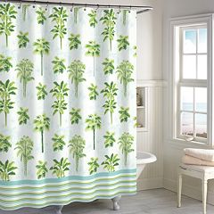 Destinations Tropical Palm Shower Curtain