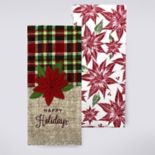 St. Nicholas Square® Happy Holidays Kitchen Towel 2-pk.