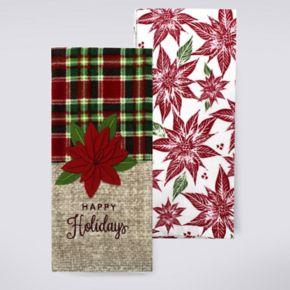St. Nicholas Square® Happy Holidays Kitchen Towel 2-pk.