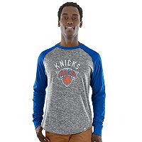 Big & Tall Majestic New York Knicks Raglan Tee