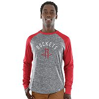Big & Tall Majestic Houston Rockets Raglan Tee