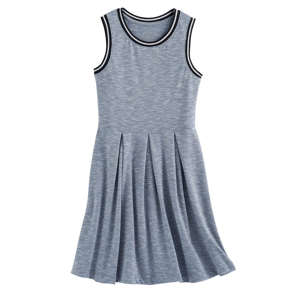 Girls 7-16 SO® Sporty Skater Dress