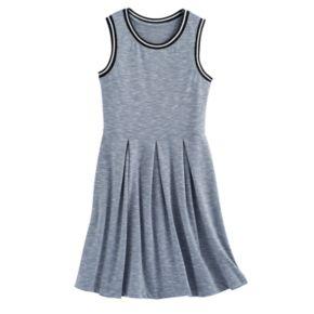 Girls 7-16 SO® Sporty Skater Dress